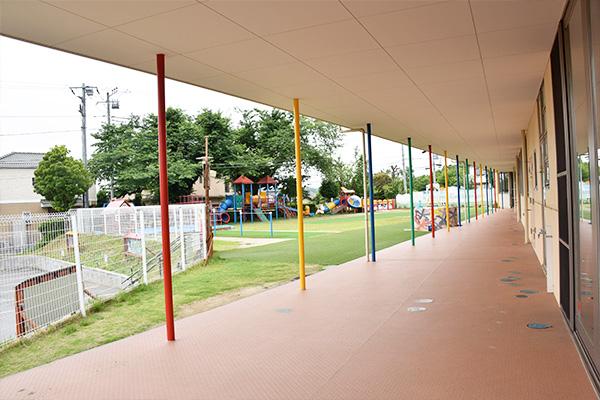 川越市、狭山市周辺の幼稚園の中でも広い園庭を所有