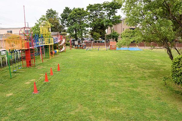敷地面積は川越市、ふじみ野市、川島町周辺の幼稚園でも随一の広さです。