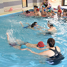 水泳教室(川越ひばりスイミングスクール)